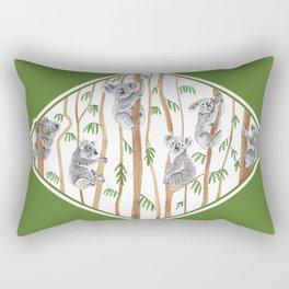 Koala Forest Rectangular Pillow