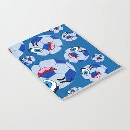SoccerComis Blue Notebook