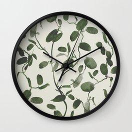 Hoya Carnosa / Porcelainflower Wall Clock