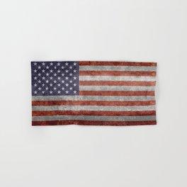 USA flag, High Quality retro style Hand & Bath Towel