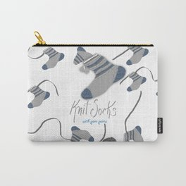 Knit Socks Carry-All Pouch