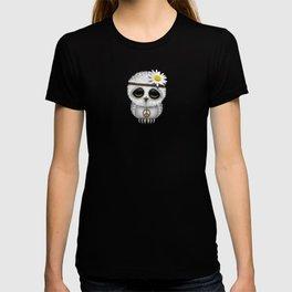 Cute Baby Owl Hippie T-shirt