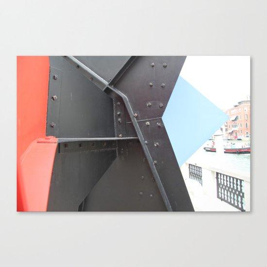Peggy Guggenheim court yard Canvas Print