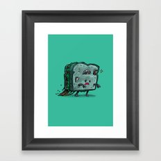 Moldy Sandwich Bot Framed Art Print