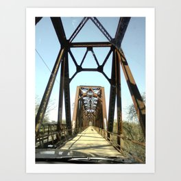 Architecture in the Middle of Nowhere Art Print