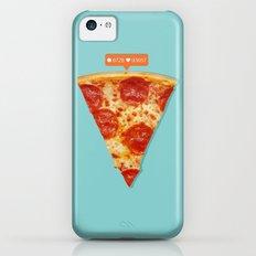 Pizza iPhone 5c Slim Case