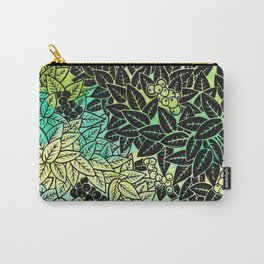 Leafy YingYang Carry-All Pouch