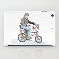 tom selleck iPad Cases featuring Tom Selleck by mattdunne