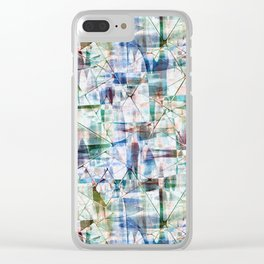 Abstract grunge. 2 Clear iPhone Case
