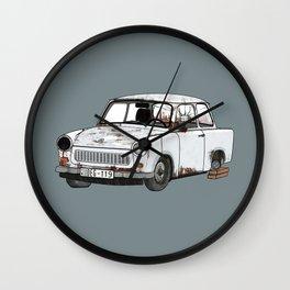 Trabant Wall Clock