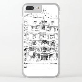 Bcn 9 Clear iPhone Case