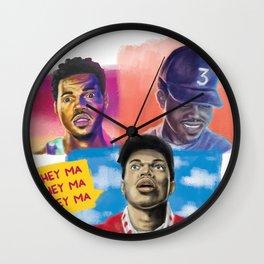 Hey Ma Wall Clock