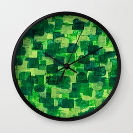 Jade Scales Wall Clock