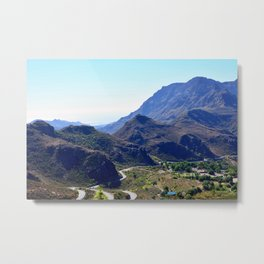 Mountains of Gran Canaria Metal Print