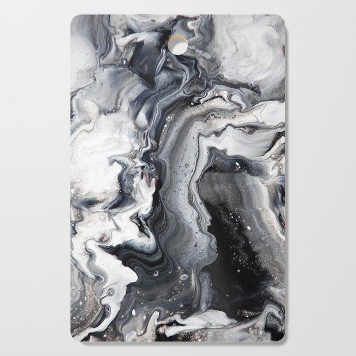 Marble B/W/G Cutting Board