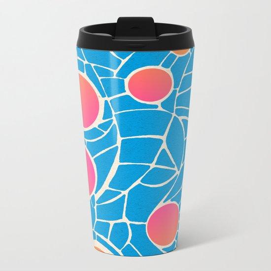 - summer life - Metal Travel Mug