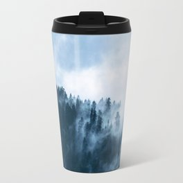 The Wilderness, Foggy Forest Travel Mug