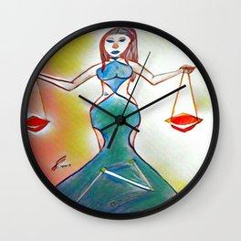 Sunrise Libra Wall Clock