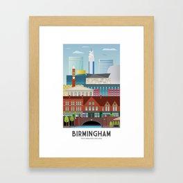 Birmingham Framed Art Print