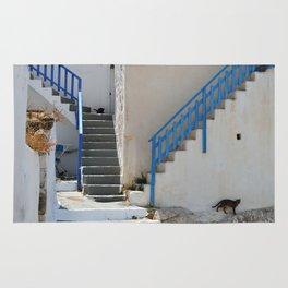 The Greek Village on Milos Rug