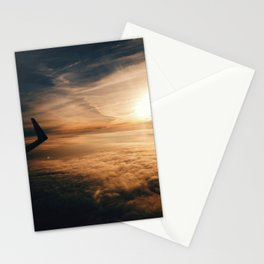 from the plane window Stationery Cards