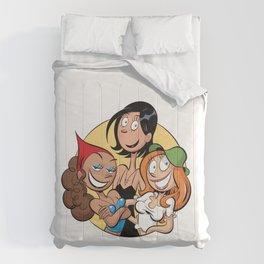 Les Nombrils - Pastille de Karine, Jenny et Vicky Comforters
