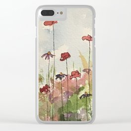 Edging the Garden Clear iPhone Case
