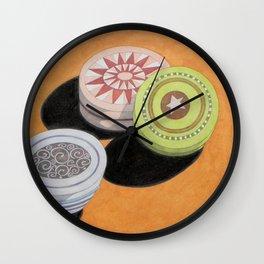 Small bowls n. 2 Wall Clock