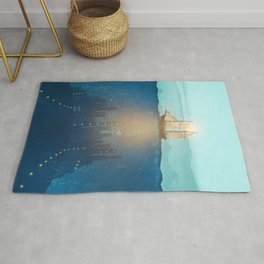 The Underwater City Rug