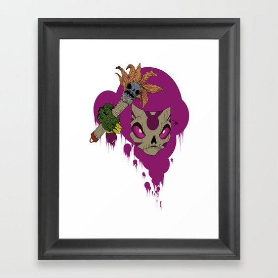 #^$&ing Voodoo Magic Framed Art Print