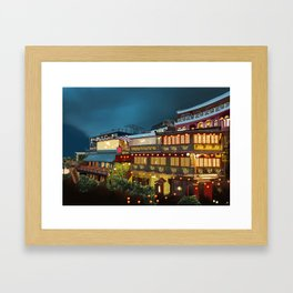 Tea house Juifen Framed Art Print