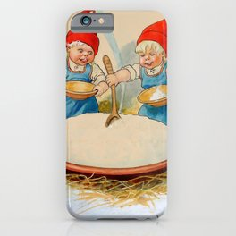 """""""The Pudding Bowl"""" by Jenny Nystrom iPhone Case"""