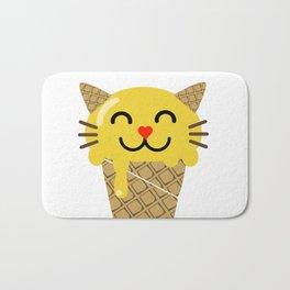 Ice Creameow Bath Mat