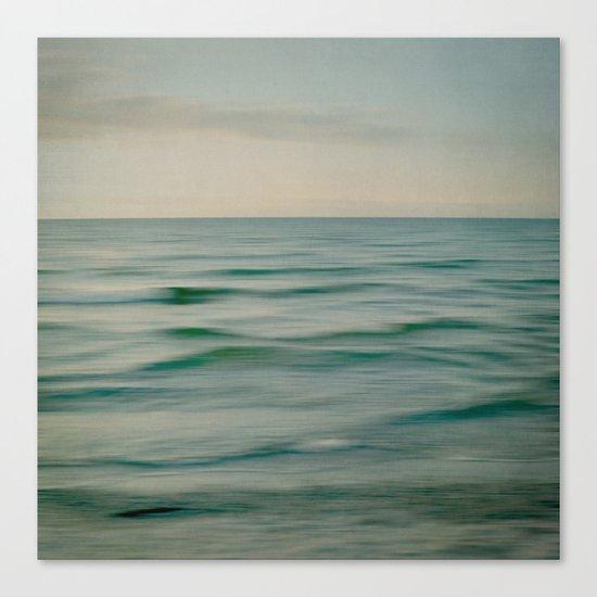 sea square V Canvas Print