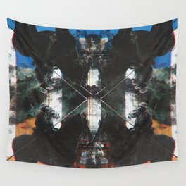 superimposed Wall Tapestry