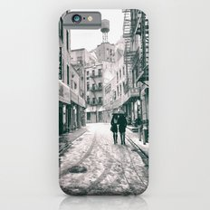 New York City - Snowy Afternoon - Chinatown iPhone 6s Slim Case
