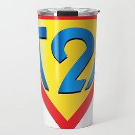Down Syndrome Awareness T21 for Kids Men Women Travel Mug