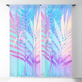 Tropical Breeze palm fronds Blackout Curtain