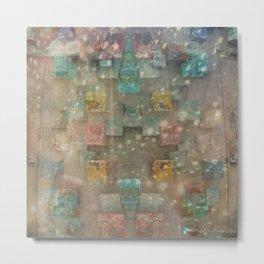 Dreamy Ceramic Tiles Metal Print