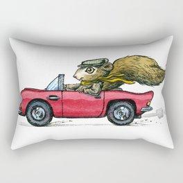 Driver Squirrel Rectangular Pillow