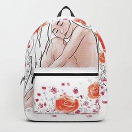 Flower Fetal Frequency Backpack