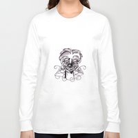 clown Long Sleeve T-shirts featuring Clown. by sonigque