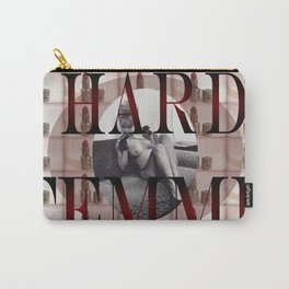 Hard Femme - Pin Up Girl Carry-All Pouch