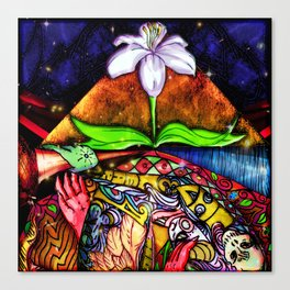 Temple of Life Canvas Print