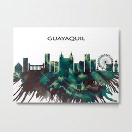 Guayaquil Skyline Metal Print