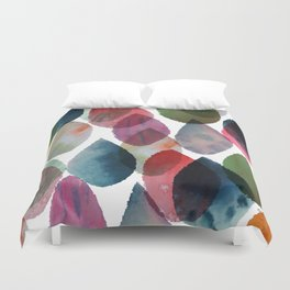 Rainbow Showers Duvet Cover