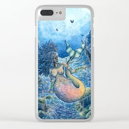 Beneath the Tides Clear iPhone Case