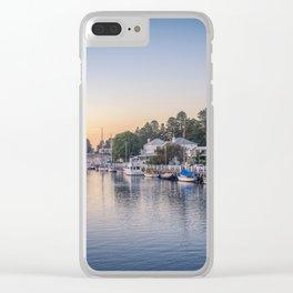 Port Fairy Sunrise Clear iPhone Case