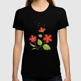 Ornate Floral Symphony (Day) T-shirt