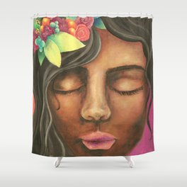 Fuity Lady Shower Curtain